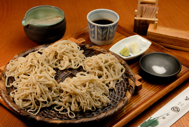お好みで食べ方もいろいろ楽しめる『常盤秋蕎麦』