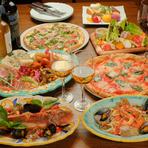 使われる野菜は、シェフが厳選した地元産の有機・無農薬のもの。オリーブオイルやチーズなどの食材は、イタリアから吟味して取り寄せるこだわりです。奈良とイタリアの食材が織り成す料理を楽しんでみてはいかが。