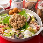 25種類の薬草スープが味わい深い『沙茶火鍋』※二人前より