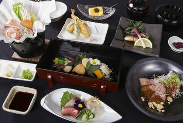 旬の鮮魚×伊賀牛を満喫できる大満足の『コース料理』