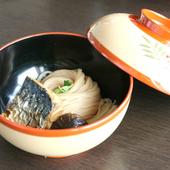 長浜名物『焼鯖そうめん』と多彩な前菜のランチが人気