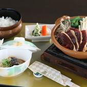 メインが選べる! 長浜名物焼鯖素麺が食べれるのは 『近江四季彩ランチ』です