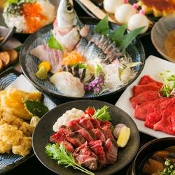 最上級の九州料理と高級食材を使ったお鍋をお届けします。海の幸ももりだくさん!