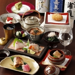 【☆会席コース専用の飲み放題有り☆なんと日本酒が9種楽しめます!】
