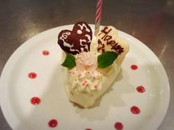 誕生日や結婚記念日、ご家庭のお祝い事に最適なコースです。