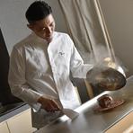 つくり手の思いが味わう側へ伝わるような料理づくりがモットー
