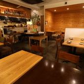 最大40名まで収容可能なスペース、団体での飲み会に最適