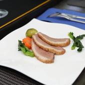 鴨肉のロースト バルサミコソース 季節の野菜を添えて(European)