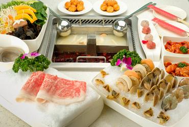 本場四川省の味を楽しめる『5580円 豪華絢爛コース』