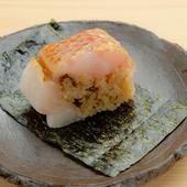 上質な脂が口の中でとろける、高級魚を贅沢に使った『のどぐろ棒鮨』