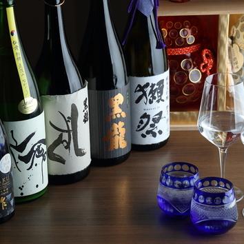 おでん出汁の香る季節の料理と店主こだわりの日本酒付きコース