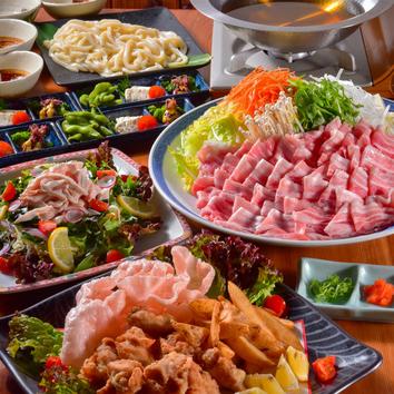 うまっしゅの選べる「鍋」のコース 2500円(税込)
