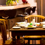 宴会を盛り上げるために大切な、お酒と料理の用意も万全
