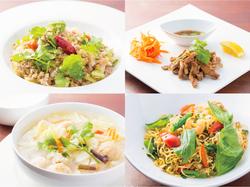 【歓送迎会・模合・二次会】本格タイ料理4品を楽しめるコース。飲み放題150分付。