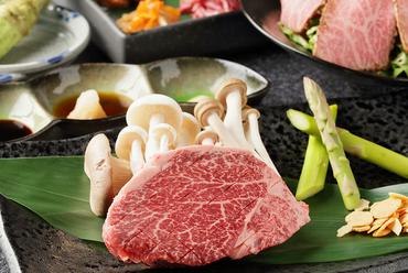 希少部位のヒレを心行くまで堪能する『牛ヒレステーキセット(約150g)』