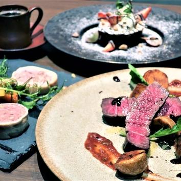 十勝牛熟成肉と道産黒毛和牛の食べ比べコース