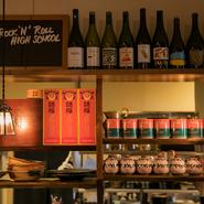 伝統を守りつつ、新しい感覚が盛り込まれた中華・アジア料理をと、それらに合わせたワインを楽しめます。ワインは、カリフォルニア・ナパバレーまで足を運びセレクト。昼飲みで贅沢な時間を過ごしてみては。