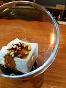 旬の食材を使用した季節メニュー『新玉ねぎのお豆腐』