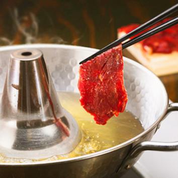 当店名物!桜肉のしゃぶしゃぶコース全9品【飲み放題付き】