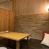 4~6名の個室スペースを3部屋完備
