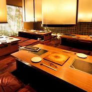 岐阜県が誇る飛騨牛は、特別な会食や接待などビジネスシーンに最適。しゃぶしゃぶ・すき焼き・焼肉から選択できるので、ニーズや好みに合わせた最良な味わい方で、おもてなしの席を設けることができます。