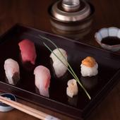 幅広い世代から支持を集め、寿司職人の技が光る『握り寿司』