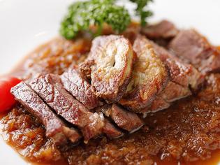 「アンガスビーフ」や「あか牛」など、上質な牛肉を堪能できる