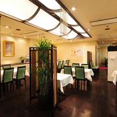 個室も完備。普段使いから特別な日まで、気軽に味わえる本格中華