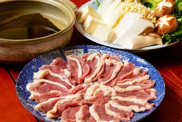 季節の食材を使った『鍋コース』