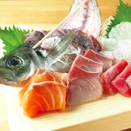 鮮度抜群な海鮮料理!気軽な大衆居酒屋ではなかなか出会えないような、本格派を揃えております。