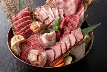 6種類の上質部位を贅沢に味わえる、特別な盛り泡せ『Kingry-La』