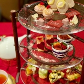 ホテルのパティシエがつくったスイーツを楽しめる『AFTERNOON TEA SET』