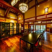 人間国宝第1号認定・富本憲吉の生家を改装したレストラン
