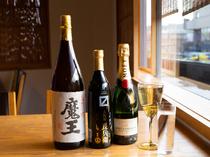 日本酒、ワイン、焼酎などドリンク各種