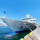美しい内装の豪華客船で、心を癒すラグジュアリーなひと時を