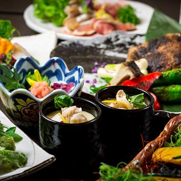●数量限定コース リーズナブル価格! 飲み放題付料理10品