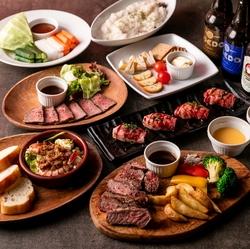 新登場「ラム肉&牛タンしゃぶしゃぶ」と、人気No.1「炙り和牛寿司」をWでお楽しみ頂けるご宴会コース。