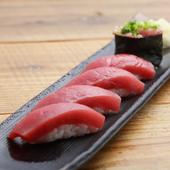 長野県産のコシヒカリと厳選した酢を使ったさっぱり系のシャリ