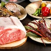 豊洲市場から仕入れた、全国各地の「上質食材」に舌鼓