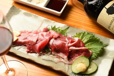 肉そのものが持つ「旨味」を味わえる『極上2点盛』