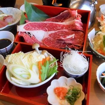 ◇旬彩料理 梅ぶた陶板焼きコース 3500円