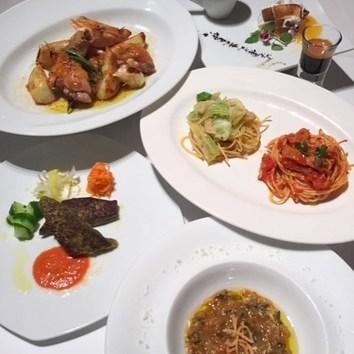●旬のおもてなしディナーコース  ¥8,800(税込9,504)