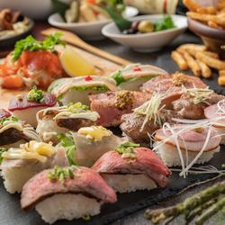 炙りにこだわった当店自慢の肉料理を余すところなくお楽しみいただけます。