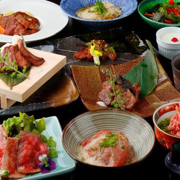 ■オススメ【全12品】肉割烹 かぶくコース【混雑時2時間制】