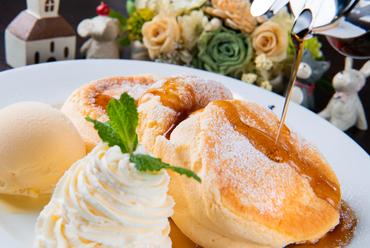 驚くほどのフワフワ食感『ふんわりパンケーキ』