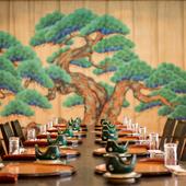 カラオケも出来る大広間で、最大140名までの宴会も叶う