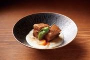 ジーマミー豆腐といなむどぅち味噌の白い餡