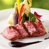 上品な脂の甘み、肉の旨みが際立つ『洋菜 但馬玄ロース』