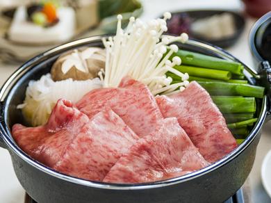 上質なすき焼き体験を届ける『牛すき鍋』