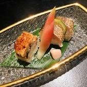 鱧・伝助穴子寿司